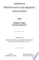 Directory Supplement