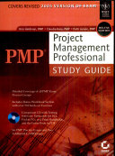 Pmp   Project Management Professional Study Guide   With Cd