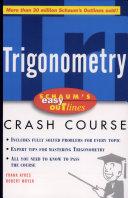 Schaum s Easy Outline of Trigonometry