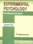 Experimental Psychology With Advanced Experiments (in 2 Vols.)