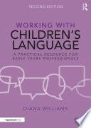 Working with Children   s Language