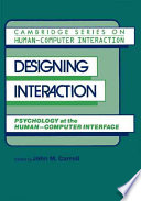 Designing Interaction  : Psychology at the Human-Computer Interface