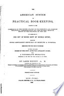The American System of Practical Book keeping Book