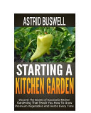 Starting a Kitchen Garden