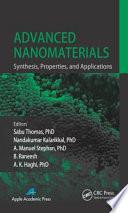 Advanced Nanomaterials Book