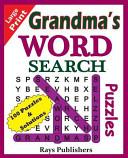 Grandma's Word Search Puzzles