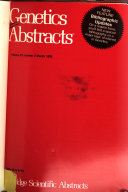 Genetics Abstracts Book