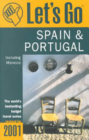 Let's Go Spain & Portugal, Including Morocco 2001