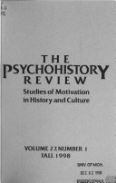 The Psychohistory Review