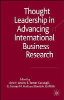 Thought Leadership In Advancing International Business Research Book PDF