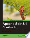 Apache Solr 3 1 Cookbook Book