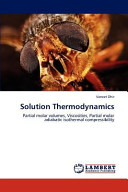 Solution Thermodynamics Book PDF