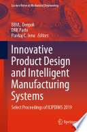 Innovative Product Design and Intelligent Manufacturing Systems Book