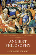 Ancient Philosophy:A New History of Western Philosophy, Volume 1
