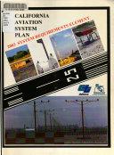 California Aviation System Plan