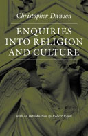 Enquiries Into Religion and Culture (The Works of Christopher Dawson)