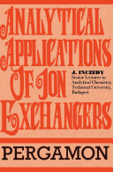 Analytical Applications of Ion Exchangers