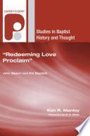 Redeeming Love Proclaim