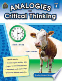 Analogies For Critical Thinking Book