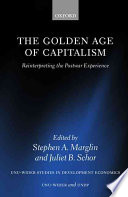 The Golden Age of Capitalism Book