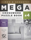 Simon   Schuster Mega Crossword Puzzle Book  4