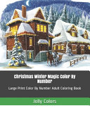 Christmas Winter Magic Color By Number