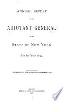 Annual Report of the Adjutant General