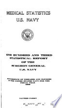 Medical Statistics, U.S. Navy