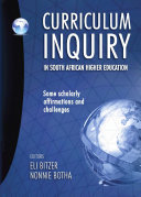 Curriculum Inquiry in South African Higher Education