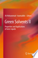 Green Solvents Ii Book PDF