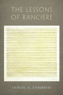 The Lessons of Rancière