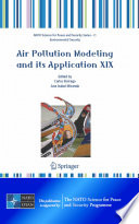 Air Pollution Modeling and Its Application XIX Book