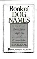 Book of Dog Names