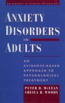 Anxiety Disorders in Adults Pdf/ePub eBook