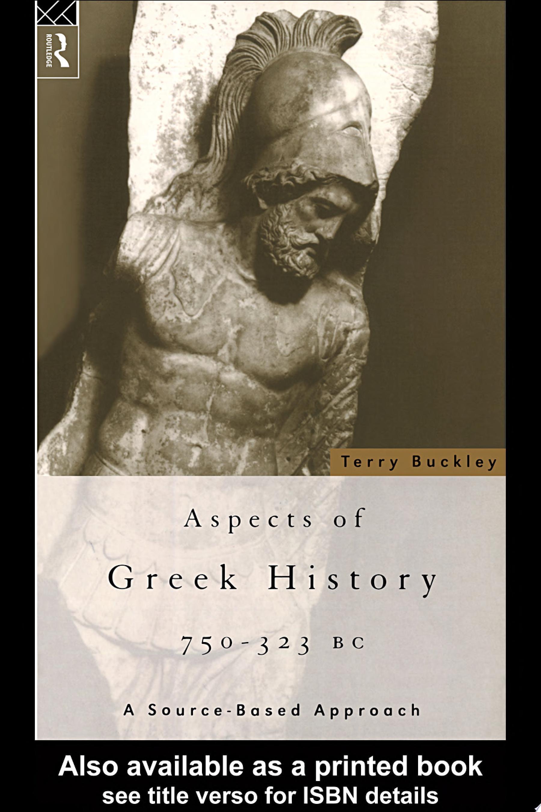 Aspects of Greek History
