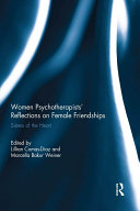 Pdf Women Psychotherapists' Reflections on Female Friendships Telecharger