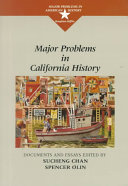 Major Problems in California History Book PDF