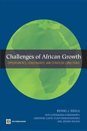 Challenges of African Growth