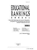Educational Rankings Annual 2005