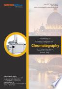 Proceedings of 4th World Congress on Chromatography 2017