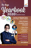 The Mega Yearbook 2020 for Competitive Exams - 5th Edition Pdf/ePub eBook