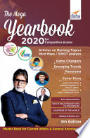 """The Mega Yearbook 2020 for Competitive Exams 5th Edition"" by Disha Experts"