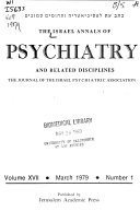 The Israel Annals of Psychiatry and Related Disciplines
