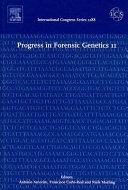 Progress in Forensic Genetics 11 Book