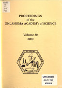 Proceedings of the Oklahoma Academy of Science