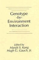 Genotype by Environment Interaction