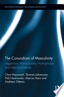 The Conundrum of Masculinity
