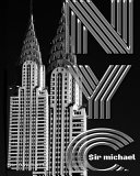 Iconic Chrysler Building New York City Drawing Writing Journal