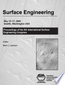 Surface Engineering Book