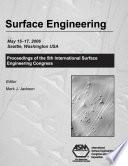 Surface Engineering Book PDF